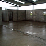 Agricultural shuttering project before and after (2 of 4)