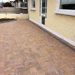 Baldoyle residential paving front of house - after