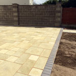 Residential paving, stone and brickwork