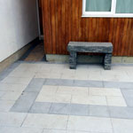 Baldoyle residential paving back and side passage - after